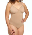 Body Wrap The Pinup Plus Full Figure Bodysuit with Underwire 45001