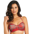 Fantasie Durban Underwire Gathered Bandeau Bikini Swim Top FS5800