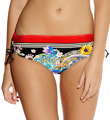 Fantasie Lascari Mid Rise Adjustable Leg Brief Swim Bottom FS6015