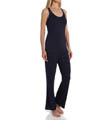 Josie by Natori Sleepwear Downtown Lounge Racerback Tank Pajama Set Y96013