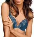 Maidenform Comfort Devotion Embellished Plunge Push Up Bra 9443