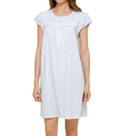 Eileen West Tulip Jersey Short Nightgown 5016024