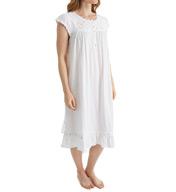 Eileen West Smocking Short Nightgown 5016046