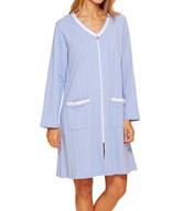Eileen West Capri Paradise Terry Short Zip Robe 5115996