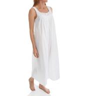 Eileen West Cotton Lawn Net Lace Ballet Nightgown 5216040