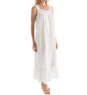 Eileen West Floral Bud Sleeveless Ballet Nightgown 5216065