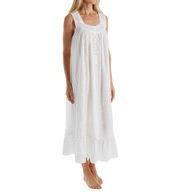 Eileen West Embroidery Sleeveless Ballet Nightgown 5216107