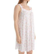 Eileen West Sleeveless Wildflower Short Chemise 5316067