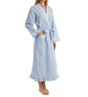 Eileen West Seersucker Ballet Wrap Robe 5916019