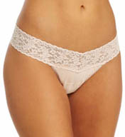 Hanky Panky Cotton With A Conscience Petite Low Rise Thong 891581x
