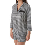 kate spade new york Stripe Short PJ Set 5011204