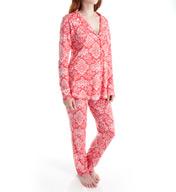 Love & Grace Cassie Bohemian Long Sleeve PJ Set BOH5000