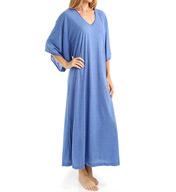 N by Natori Sleepwear Congo Shortsleeve Jersey Caftan ZC0001