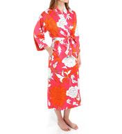 N by Natori Sleepwear Dahlia Printed Robe ZC4020