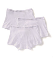 Calvin Klein Classics 100% Cotton Trunks - 3 Pack NB1119