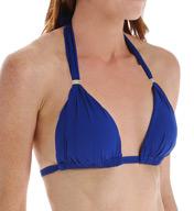 Lauren Ralph Lauren Beach Club Solids Molded Cup Slider Swim Top LR6GB87