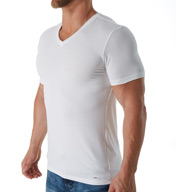 Michael Kors Luxury Modal V Neck T-Shirt KU12005
